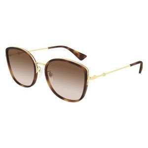 New Women Havana Cat-eye Sunglasses